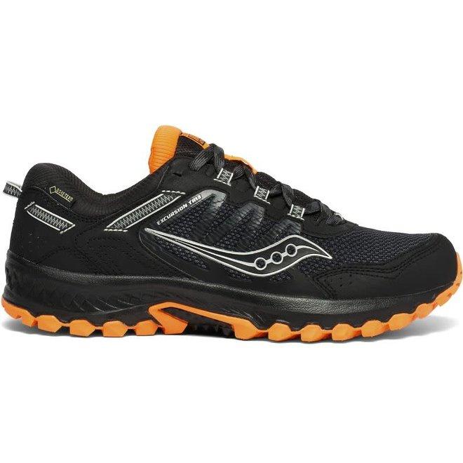 Saucony Versafoam Excursion TR13 GTX Trailrun Shoe Men Black / Orange