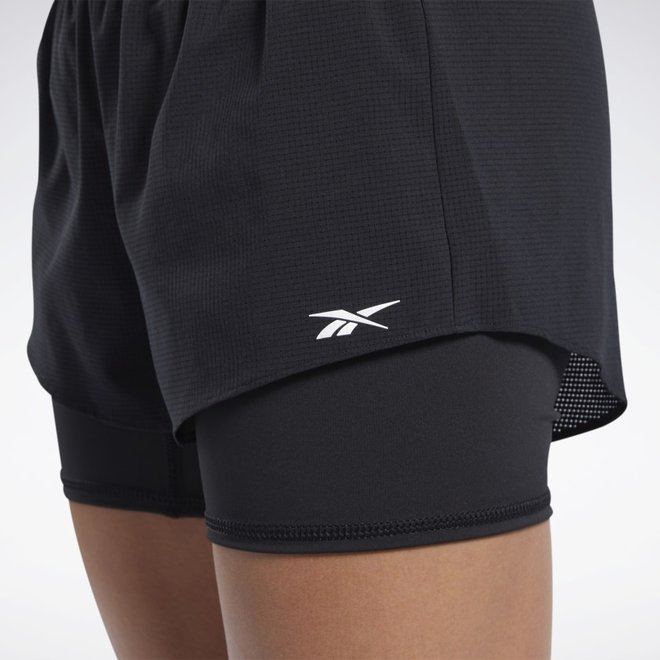 Reebok Epic Two-in-One Short Ladies Black