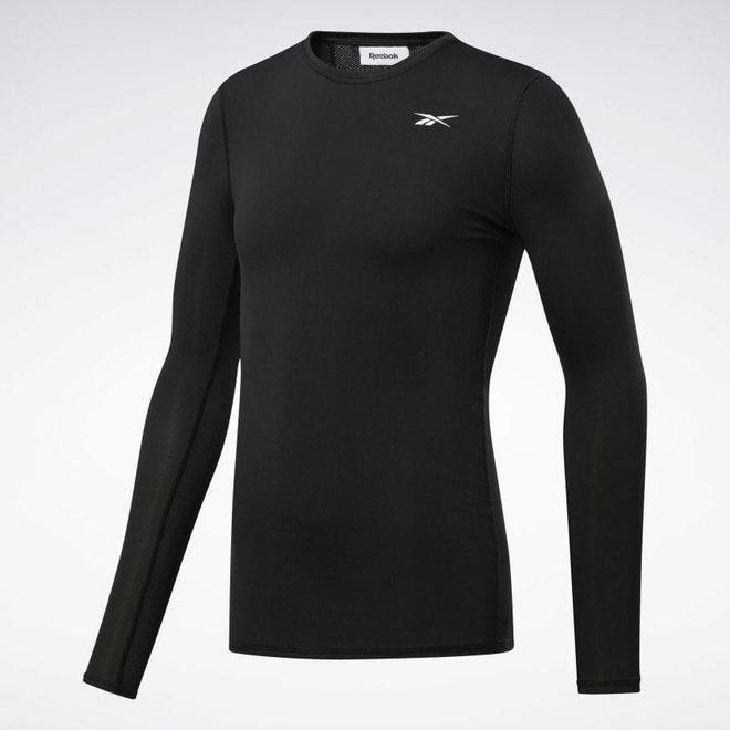 Reebok Workout Ready Compressie T-Shirt Heren Zwart