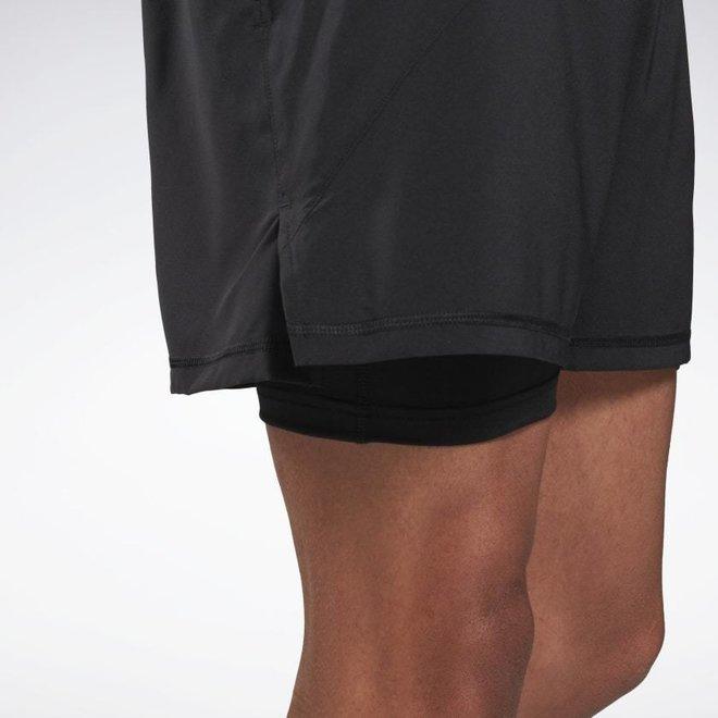 Reebok Running Essential Two-In-One Short Men Black