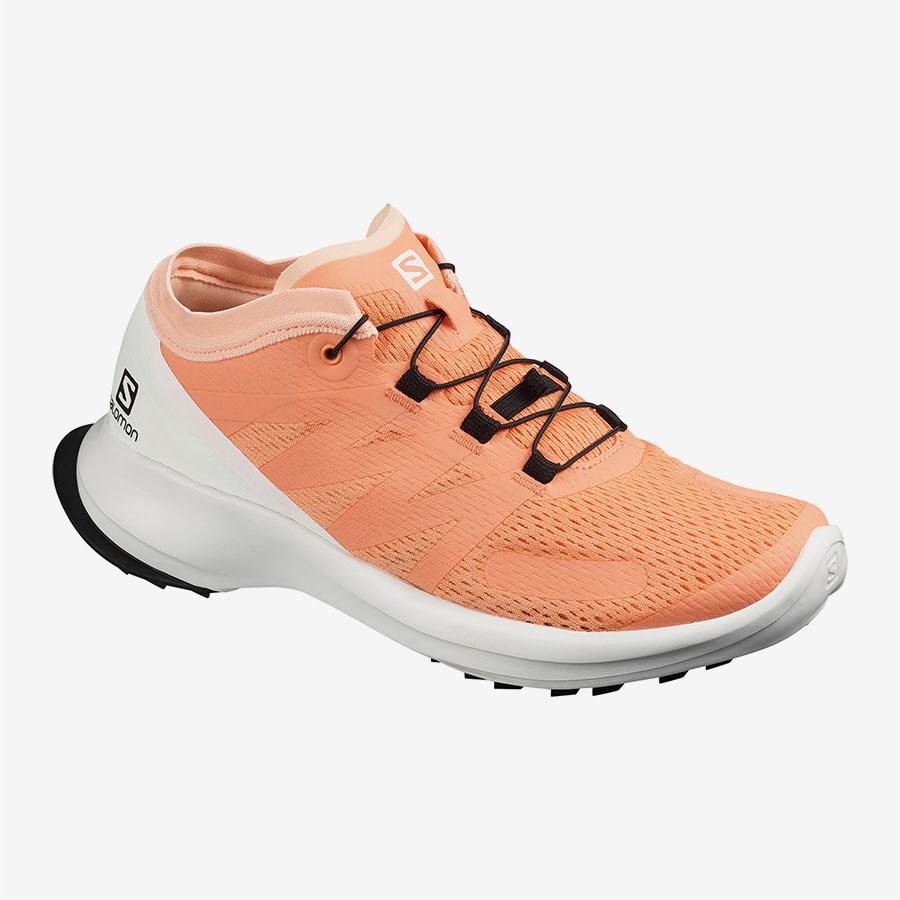 Salomon Salomon Sense Flow Trailrun Schuh Ladies Orange