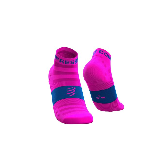 Compressport Pro Racing Socks V3.0 Ultralight Run Low Fluo-Pink