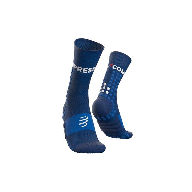 Compressport Ultra Trail Socken Blau