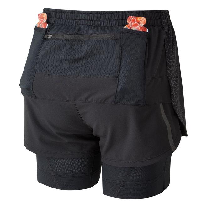 Ronhill Infinity Marathon Twin Short Running Short Ladies Black