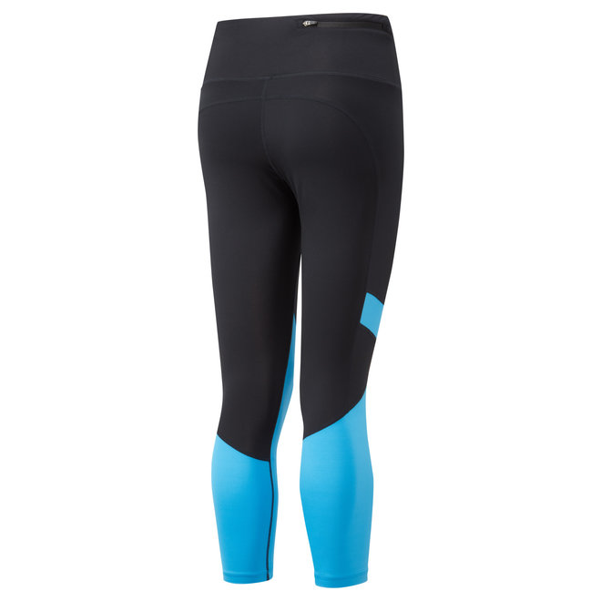 Ronhill Stride Revive Crop Tight Ladies Black-Blue