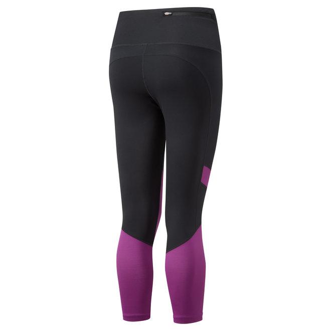 Ronhill Stride Revive Crop Tight Ladies Black-Purple