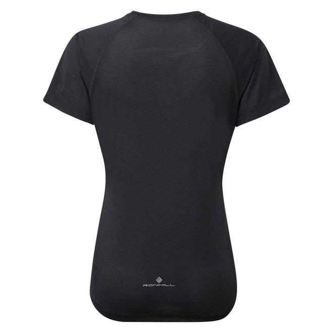 Ronhill Stride SS T-Shirt Damen Schwarz