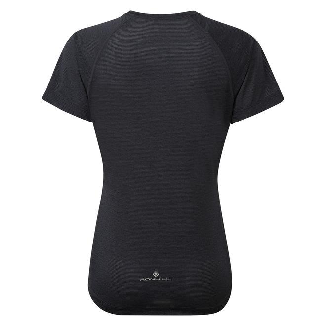 Ronhill Stride SS T-Shirt Ladies Black