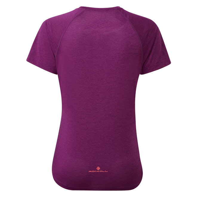 Ronhill Stride SS T-Shirt Ladies Pink