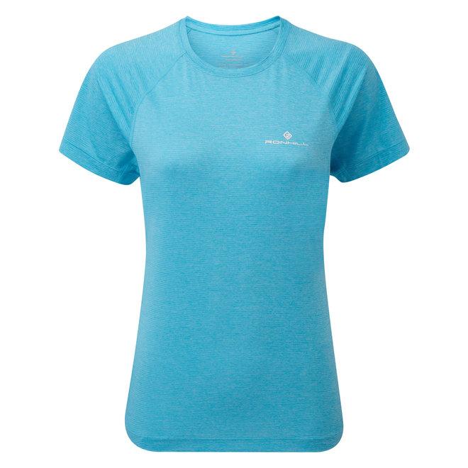 Ronhill Stride SS T-Shirt Damen Blau