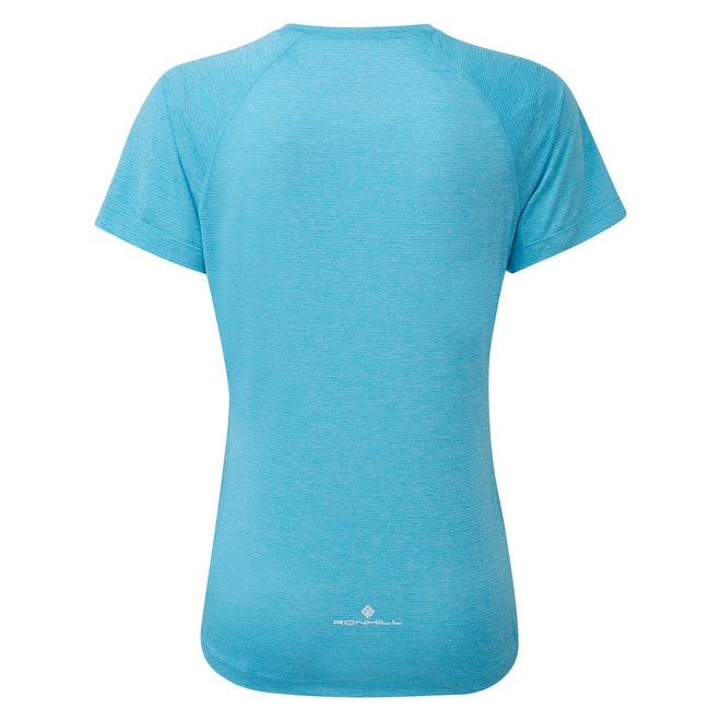 Ronhill Stride SS T-Shirt Ladies Blue