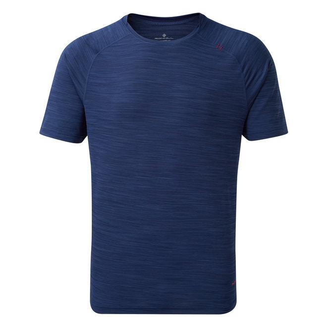 Lufttrockenes SS-T-Shirt Ron Hill Infinity Blue Men