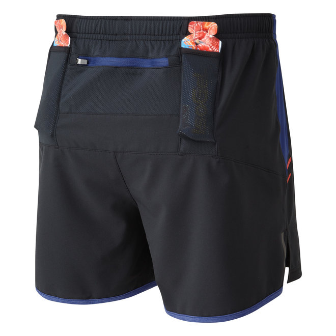 RonHill Stride Cargo Short Running Shorts Black Men