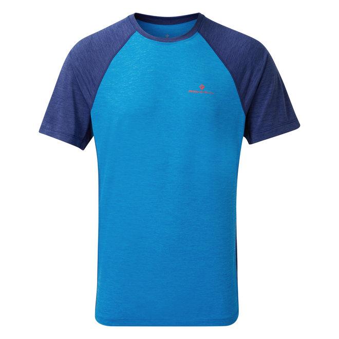 RonHill Momentum SS T-Shirt Blue Men
