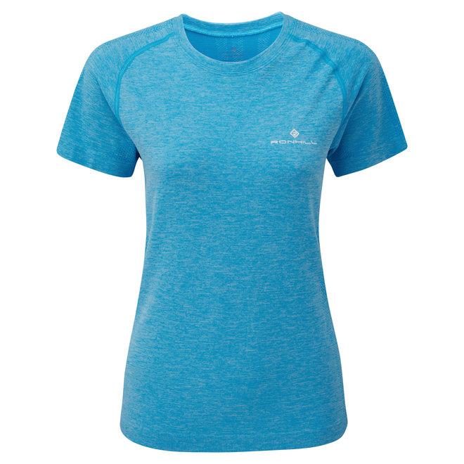 Ronhill Infinity Marathon SS T-Shirt Ladies Blue