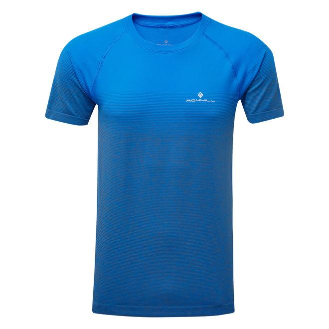 RonHill Infinity Marathon SS T-Shirt Men Blue