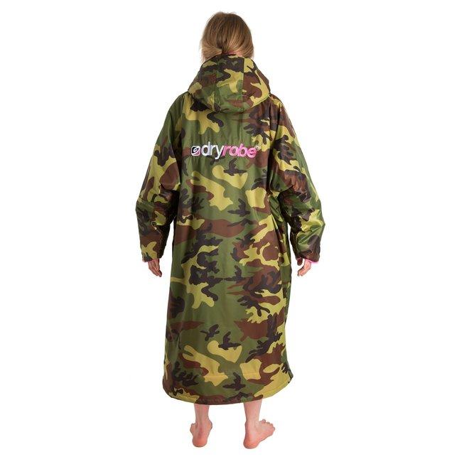 Dryrobe Advance Longsleeve Camouflage/Roze
