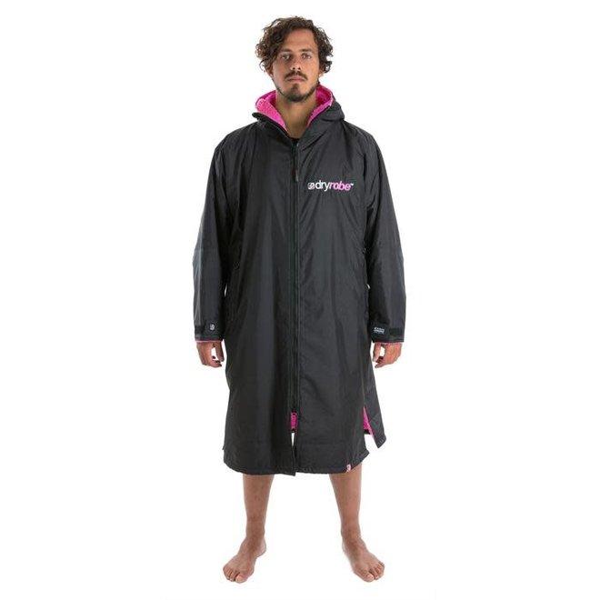 Dryrobe Advance Longsleeve Black / Pink