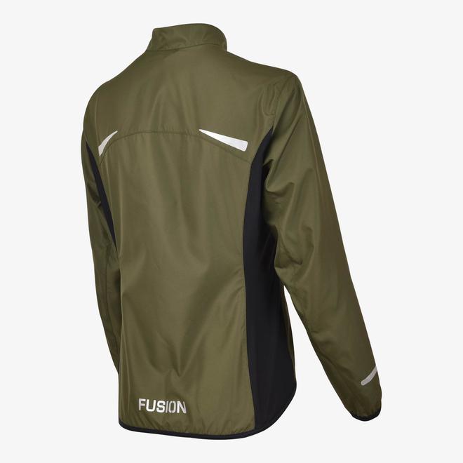 Fusion S1 Run Jack Dames Green Hardloopjas Waterafstotend