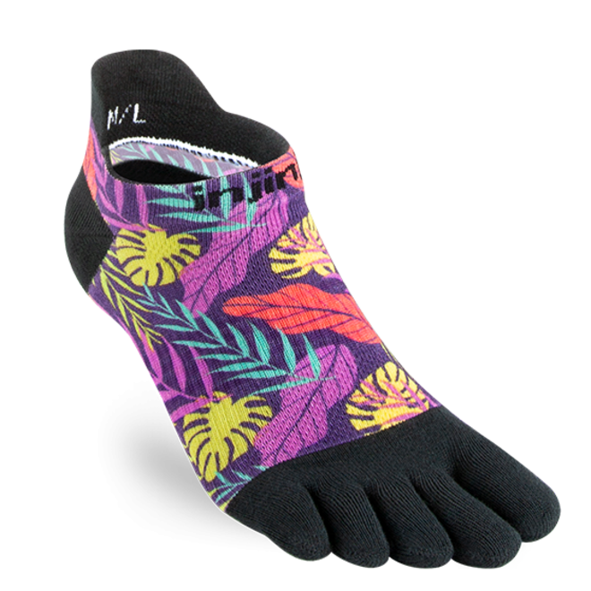 Injinji Run Lightweight No Show Teensokken Lush Spectrum Dames