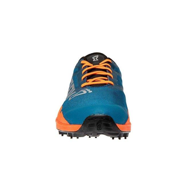 Inov-8 OROC 270 Blauw/Oranje Trailrunschoen Dames met spikes