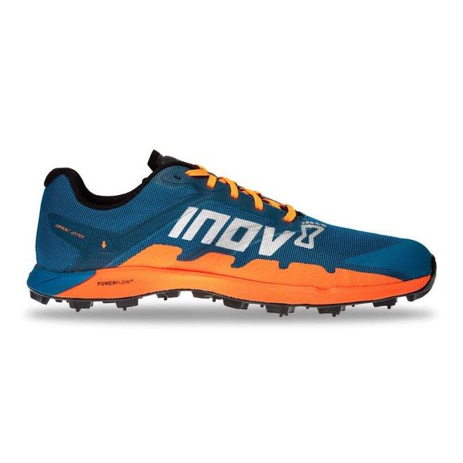 Inov-8 OROC 270 Blue / Orange Trail running shoe Ladies with spikes