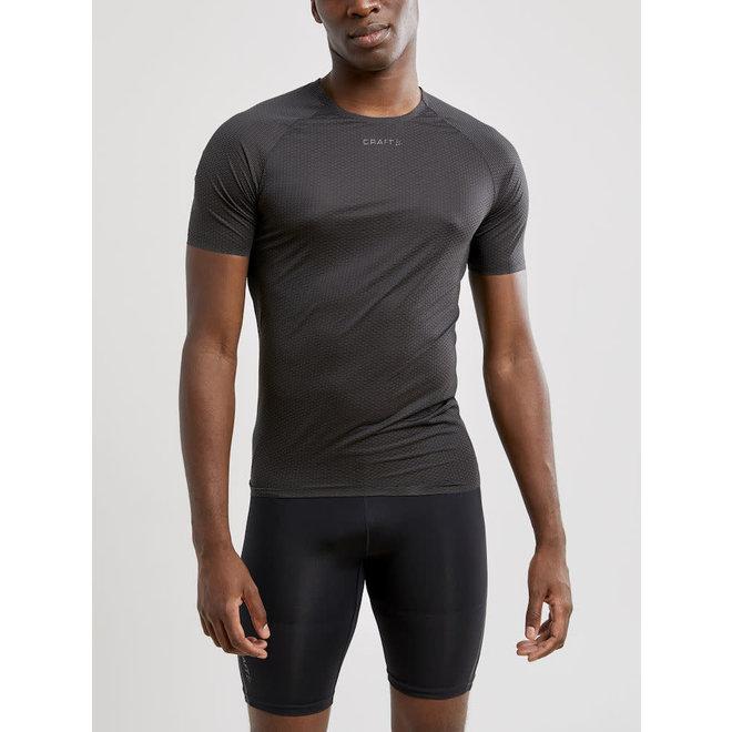 Craft Pro Dry Nanoweight SS T-Shirt Heren Zwart