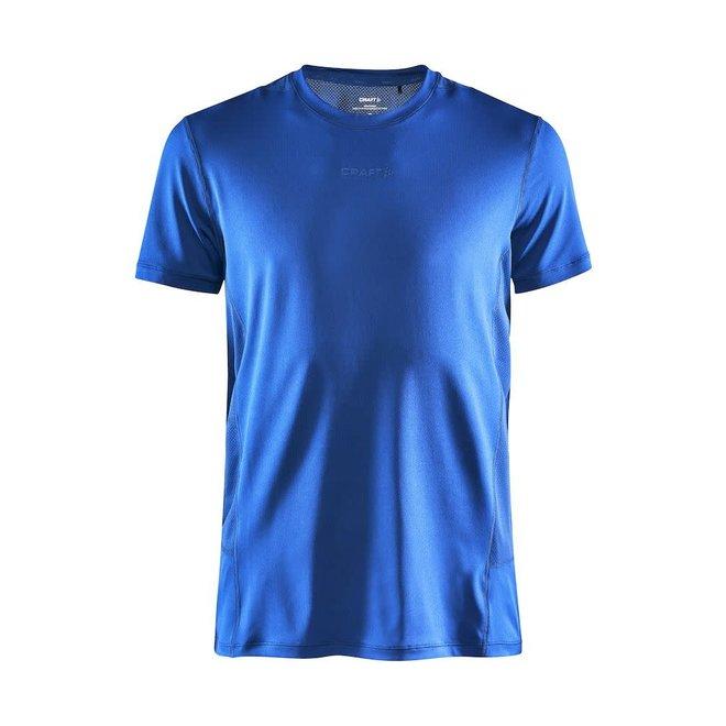 Craft ADV Essence SS Slim T-Shirt Heren Blauw