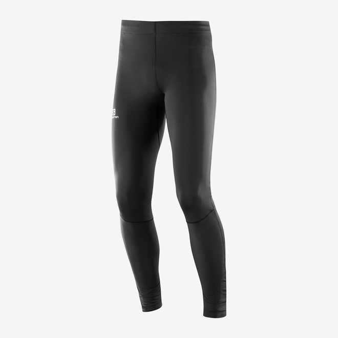Salomon Agile Long Tight Men Black