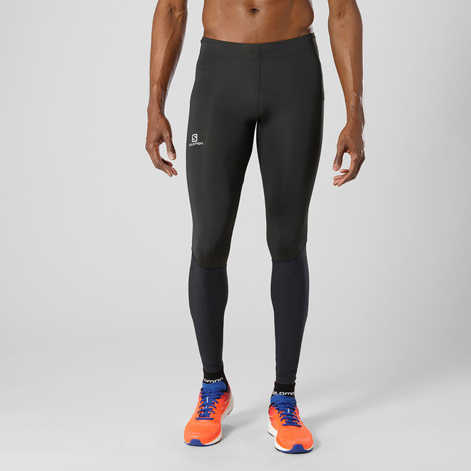 Salomon Agile Long Tight Heren Zwart