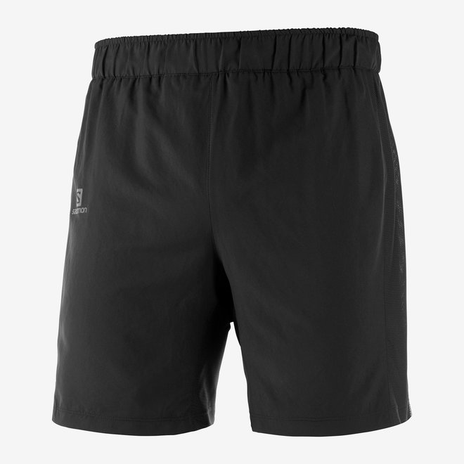 Salomon Agile 2-in-1 Short Men Black