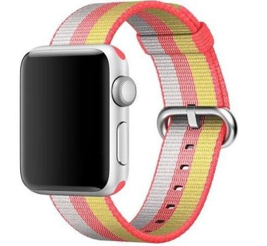 Apple Watch nylonschnallenband - rot