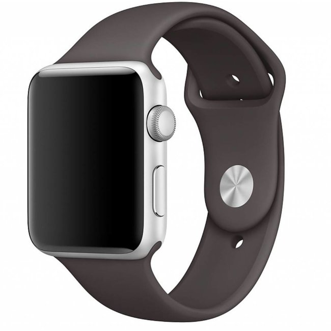 123Watches Apple watch sport band - cocoa