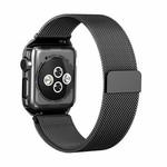 123Watches.nl Apple watch milanese case band - zwart