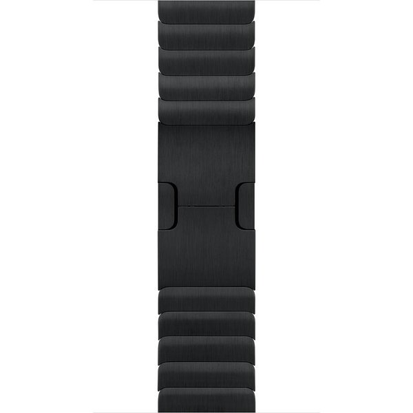 123Watches.nl Apple watch steel link band - black