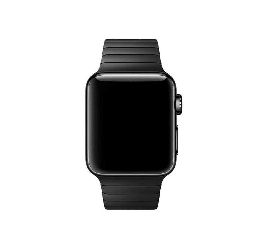 Apple watch steel link band - black