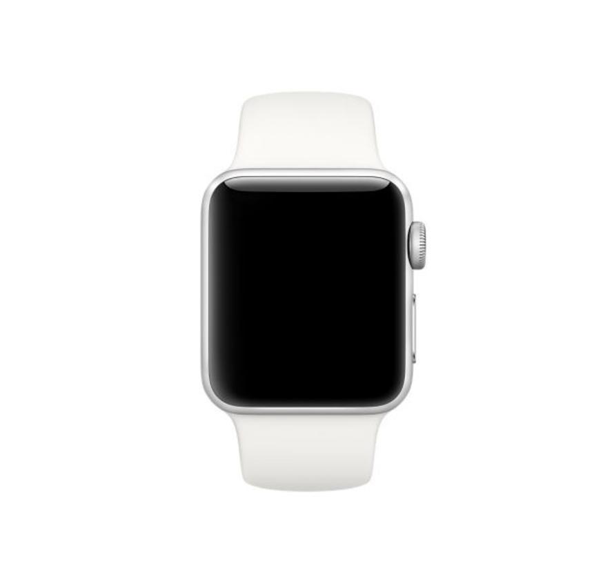 Apple watch sport band - soft white