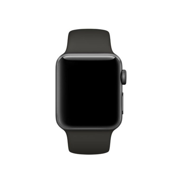 123Watches Apple watch sport band - gray
