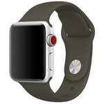 123Watches Apple watch sport band - donker olijf