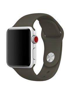 123Watches.nl Apple watch sport band - dark olive