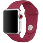123Watches Apple watch sport band - rose red