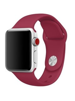 123Watches.nl Apple watch sport band - rose red
