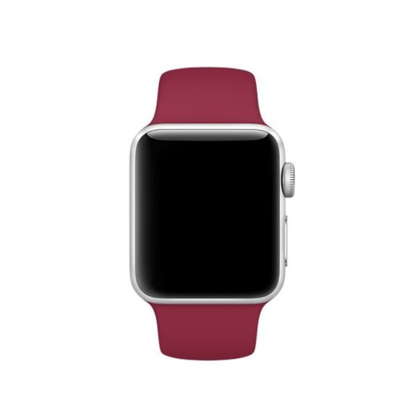 123Watches Apple watch sport band - rose rood