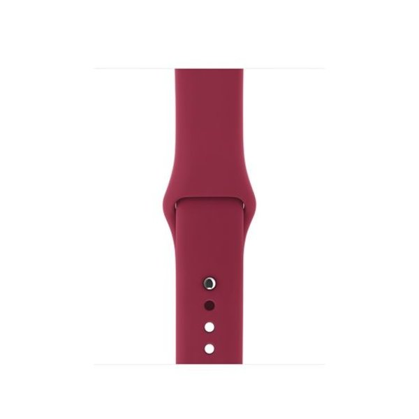 123Watches.nl Apple watch sport band - rose rood