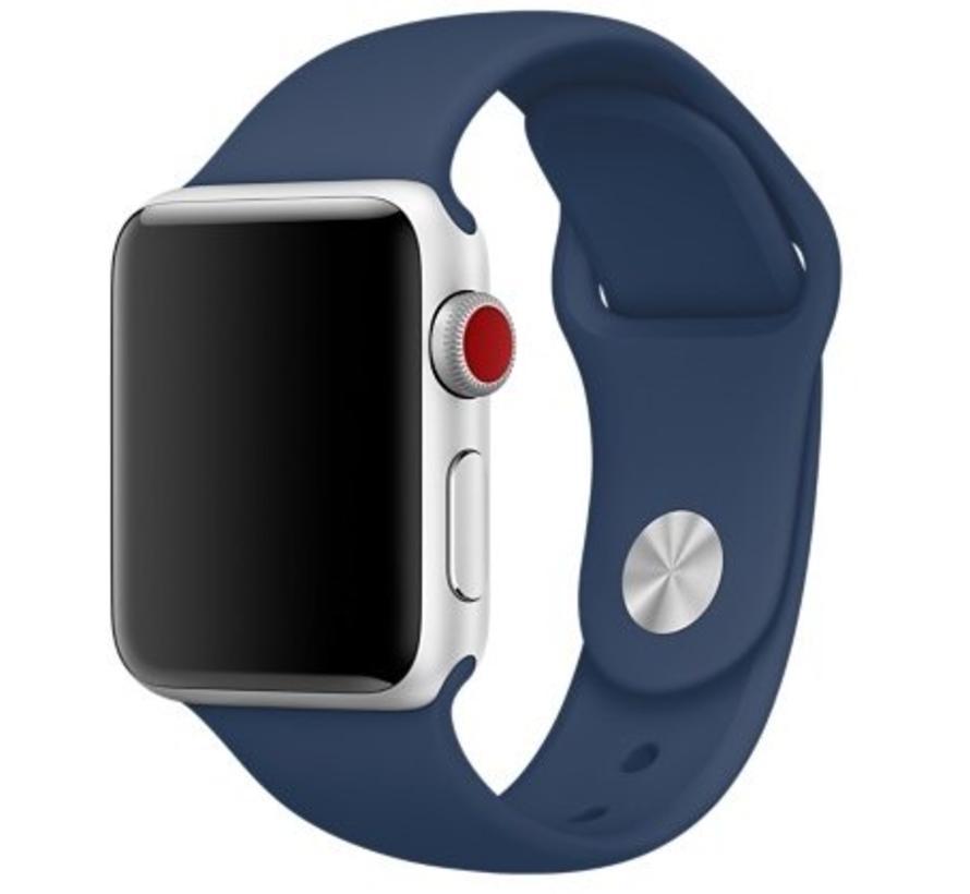 Apple watch sport band - kobalt