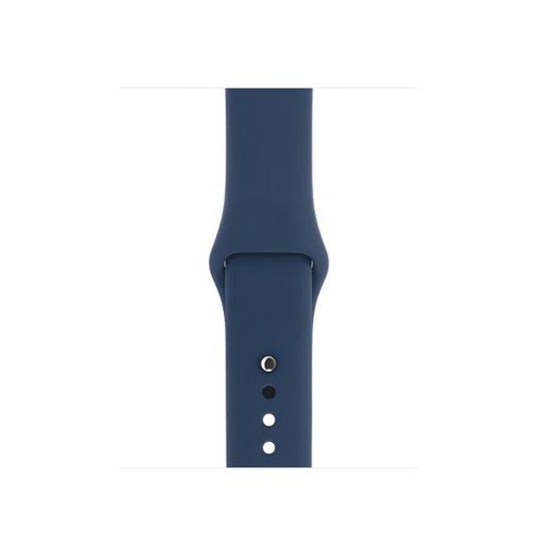 123Watches Apple Watch sport sangle - cobalt