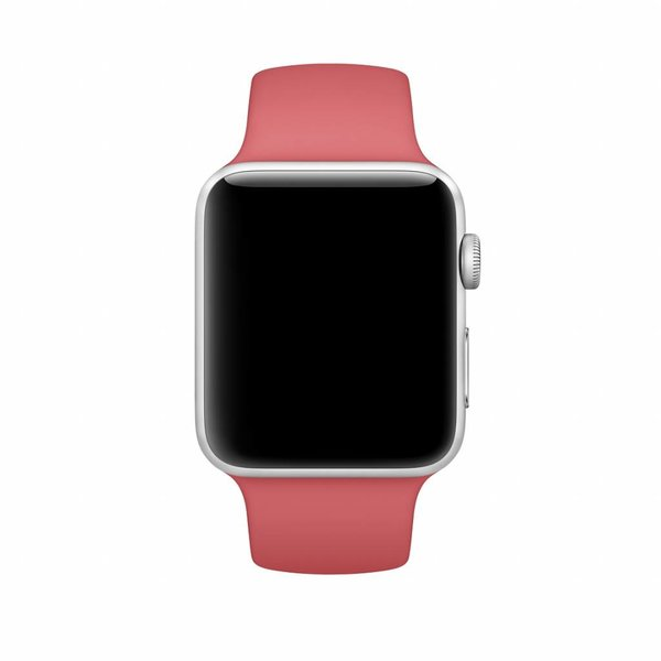 123Watches Apple watch sport band - camellia