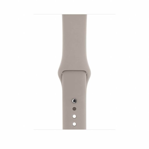 123Watches Apple watch sport band - pebble
