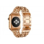123Watches Apple watch steel cowboy link band - rose gold