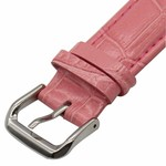 123Watches Apple watch leather crocodiles band - pink